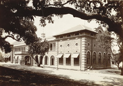 New Veterinary College at Parel, taken 7th Apr 1909 (Recd, 31 Aug 1909)